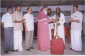 The Most Rev.Dr.Philipose Mar Chrysostom Mar Thoma Valia Metropolitan inaugurates the project Mould a Child, Mould the World